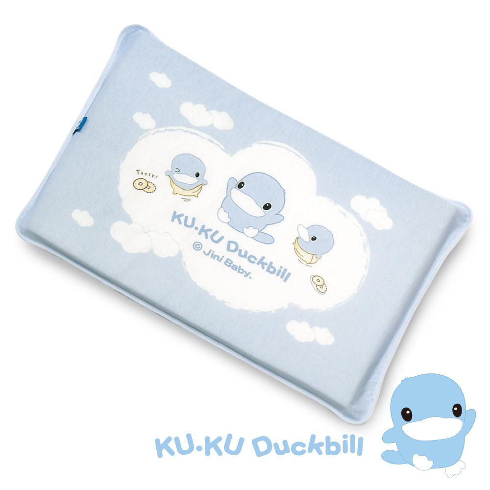 KU.KU酷咕鴨-嬰兒感溫記憶睡枕(兩色可選)