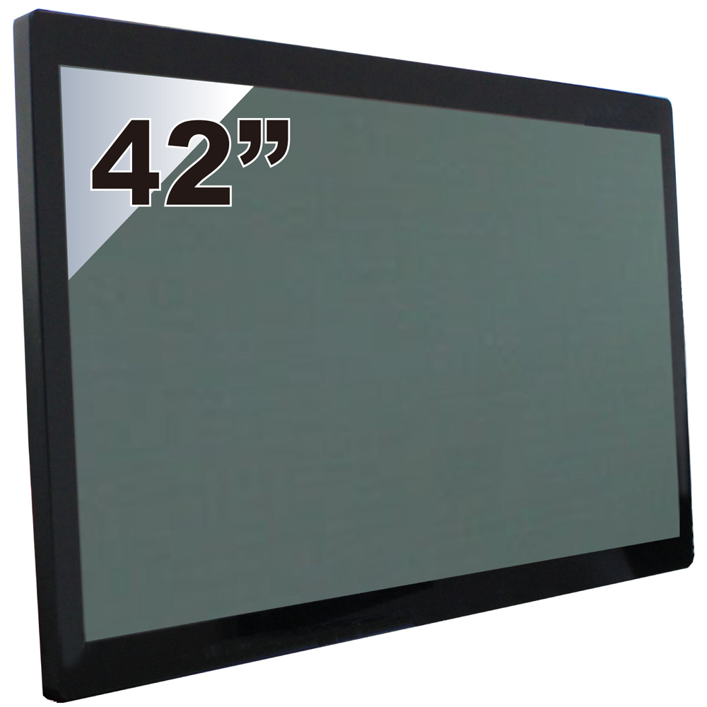 Nextech P系列 42吋-室外型 電容觸控螢幕(前防水+高亮度)