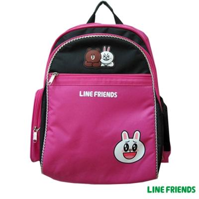 【LINE FRIENDS】MIT 成長型護脊後背書包(兔兔_LI5333)