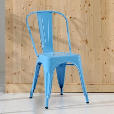 BuyJM 天空藍法國Tolix工業風格餐椅-免組