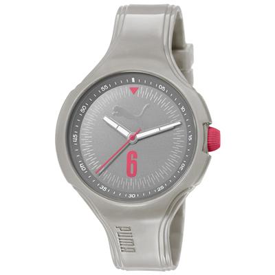 PUMA 舞動青春輕量 腕錶~淺灰 42mm