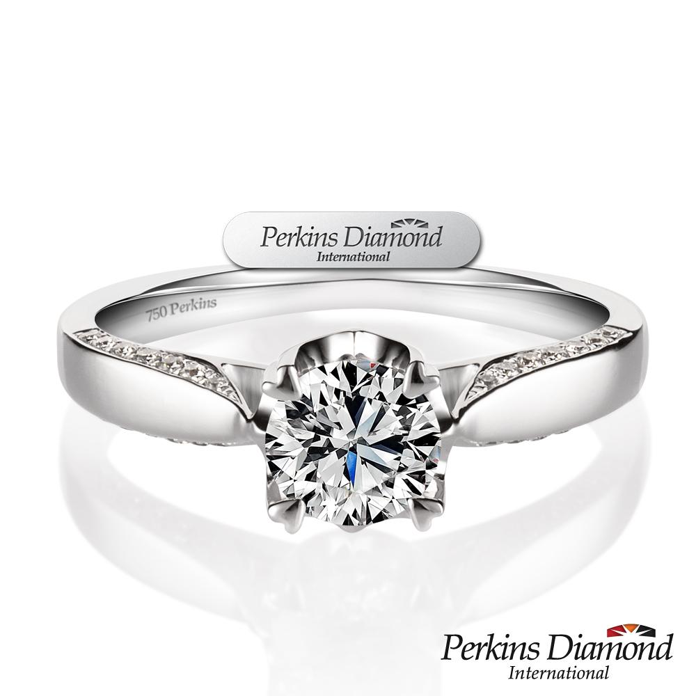 PERKINS 伯金仕 - GIA 夏綠蒂系列 0.50克拉鑽石戒指