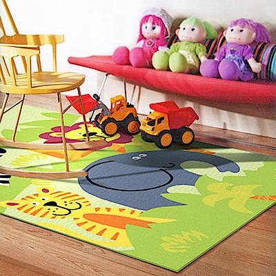 范登伯格 - 斑比  進口遊戲地毯 -  動物園 (117 x 170cm)