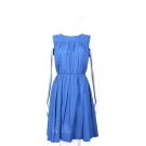 Marc Jacobs 藍色洞洞設計頸後綁帶無袖洋裝