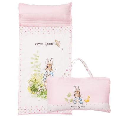 奇哥 花園比得兔簡約風睡袋-粉色