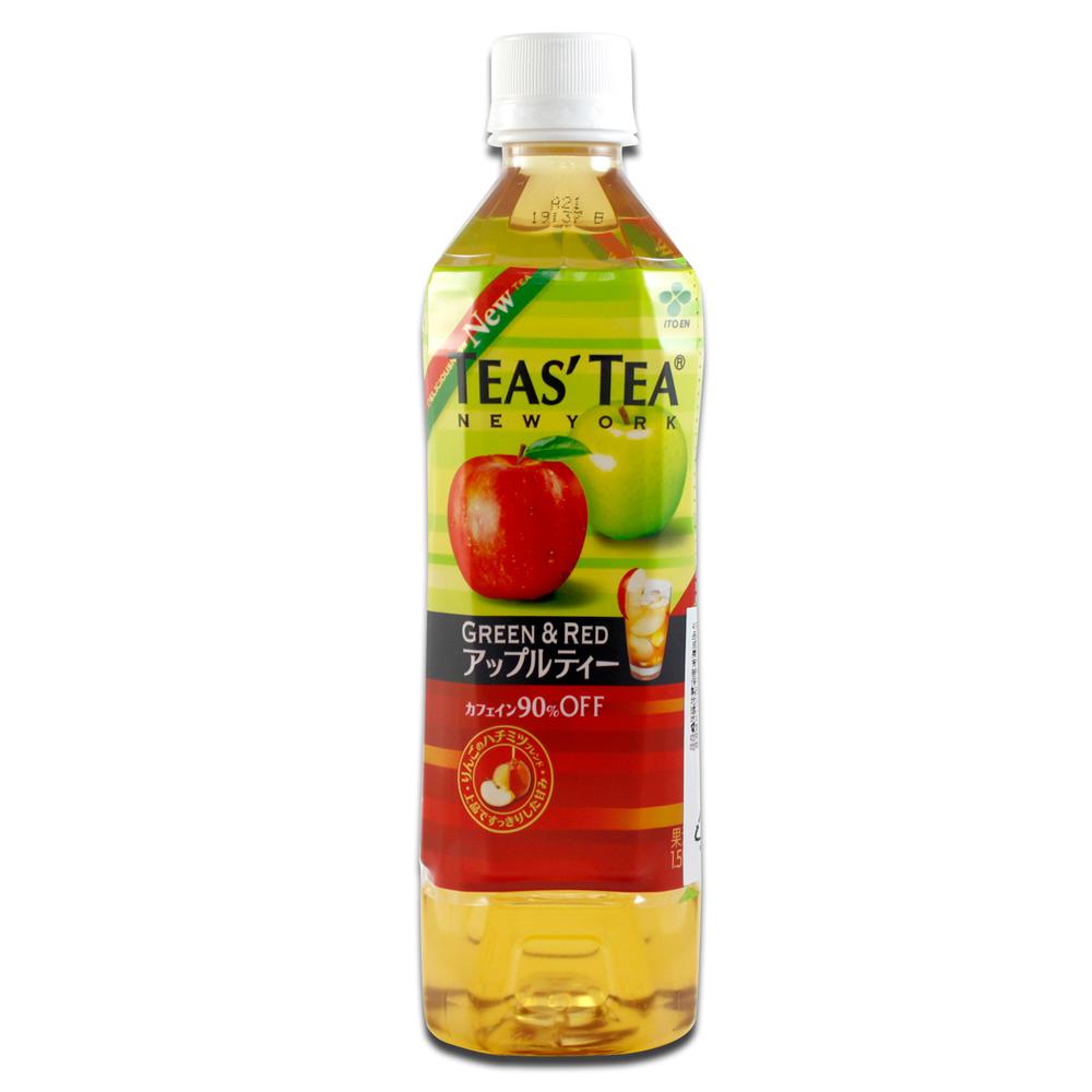 《伊藤園》TEAS TEA蘋果紅茶  (500ml x 6入組)