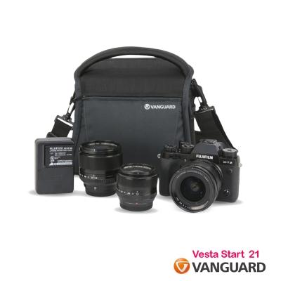 VANGUARD 精嘉 唯它黑匣 21 攝影側背包 Vesta Start 21