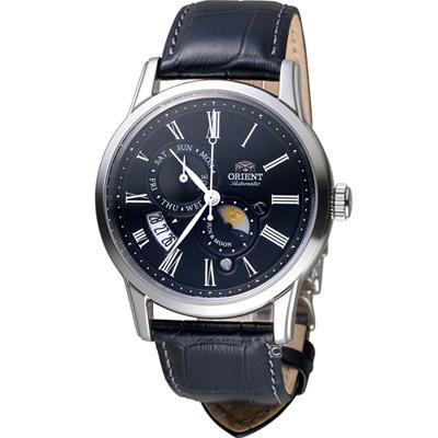 ORIENT 東方錶 SUN&MOON系列機械錶(SAK00004B)
