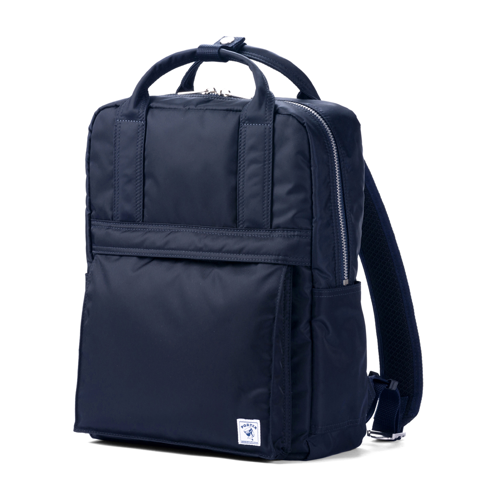 PORTER - 經典氣度MA-1+時尚造型後背包 - 深藍