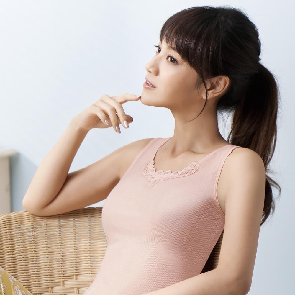 華歌爾-COOL新涼感M-LL背心(粉嫩橘)