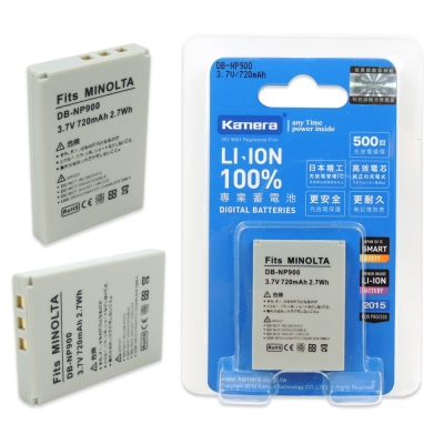 Kamera 佳美能 For Minolta NP-900 高容量相機鋰電池