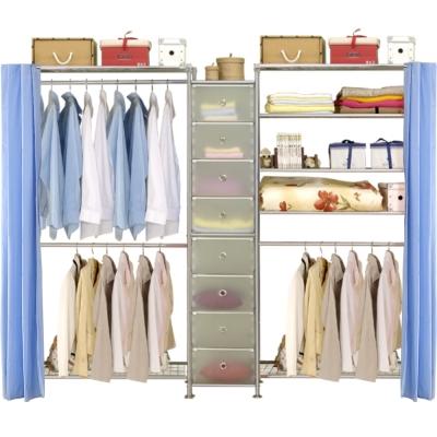 巴塞隆納─W2型90+D+W5型90衣櫥置物櫃