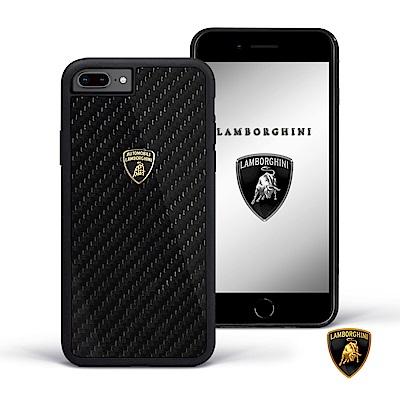 iPhone 6/6s/7/8 plus 藍寶堅尼碳纖維手機殼
