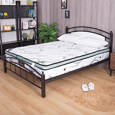 亞爾曼 超Q彈頂級乳膠正三線雙人5尺獨立筒床墊
