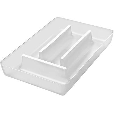 KOZIOL Rio 4格餐具收納盒(透白)