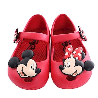 迪士尼米妮輕量美型休閒鞋 紅 sk0266 魔法Baby