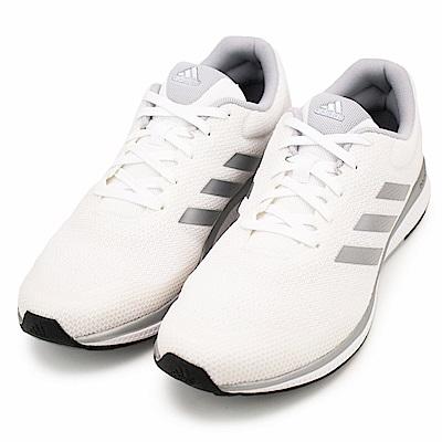 ADIDAS-男慢跑鞋BW0564-米白