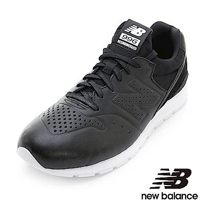 New Balanc 復古鞋MRL996D8-D中性黑色