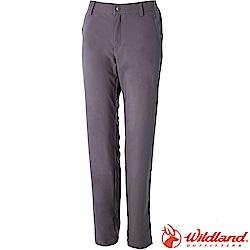 Wildland荒野 S2371-90灰色 女彈性四季款休閒長褲
