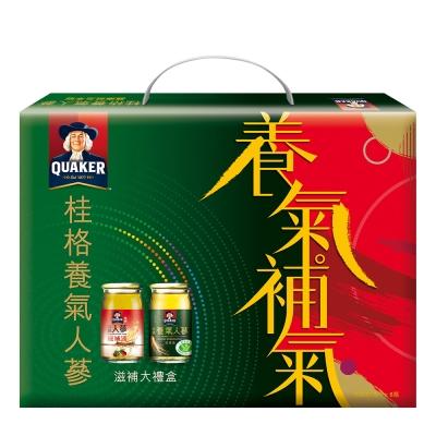 桂格養氣人蔘滋補大禮盒(養氣人蔘60ml*4瓶+高麗人蔘60ml*4瓶)