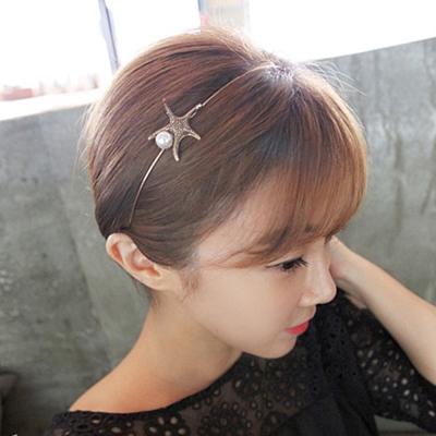 梨花HaNA 韓國SUMMER物語海星貝殼細髮箍