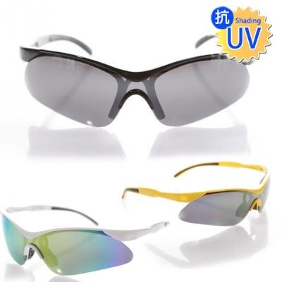 寶麗萊鏡面抗UV偏光運動型太陽眼鏡(款式任選)