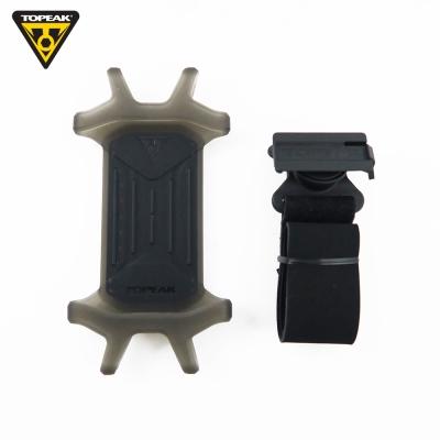 TOPEAK OMNI RideCase 多用途手機固定座彈性矽膠手機套-黑