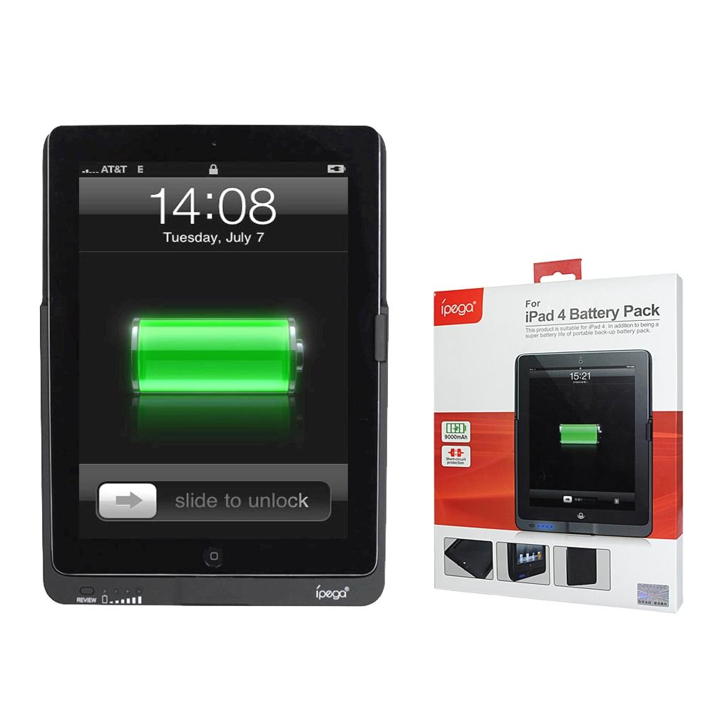 iPega For  iPad 4 專用背殼式行動電源 (9000mA)
