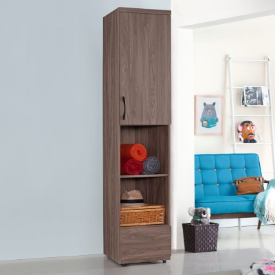Homelike 克拉1.5x7尺衣櫃-46x57x203cm