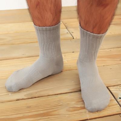 源之氣 竹炭長統透氣運動襪/男女共用 6雙組 RM-10037