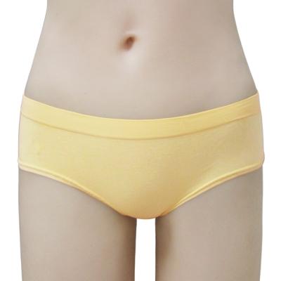 瑪登瑪朵-2014SS低腰寬邊三角無縫褲(扶桑黃)