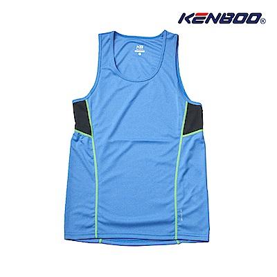 KENBOO吸排背心-麻花藍