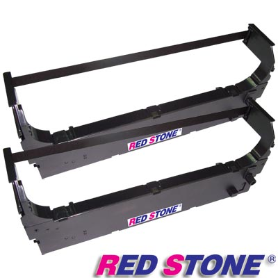 RED STONE for OMRON 3M2GS-ATM黑色色帶組【雙包裝】×1盒(1盒2入)