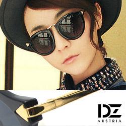 DZ 個性箭矢 抗UV太陽眼鏡造型墨鏡(亮黑系)