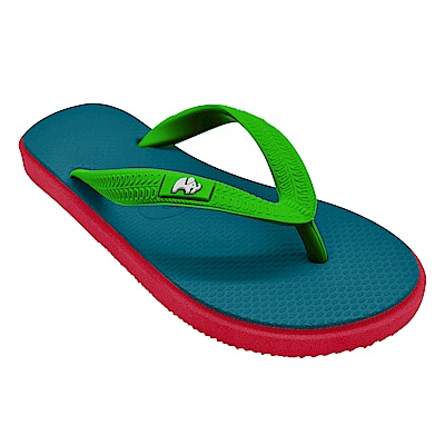 Fipper KIDS 天然橡膠拖鞋 TURQUOISE-GREEN