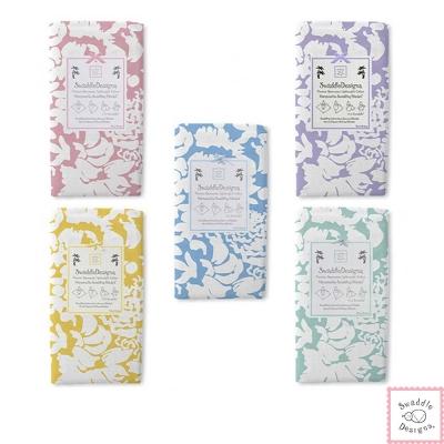 Swaddle Designs 薄棉羅紗多用途嬰兒包巾-復古花卉