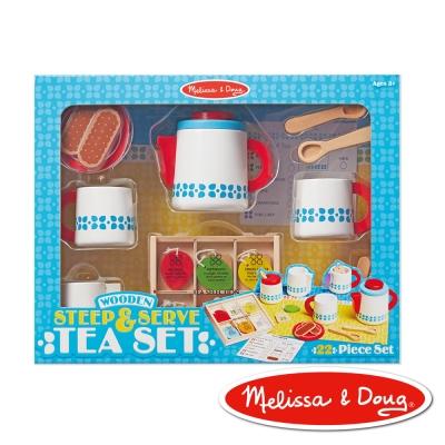 美國瑪莉莎 Melissa & Doug 角色扮演 - 木製下午茶組