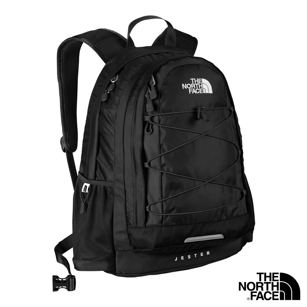 THE NORTH FACE JESTER 風格雙肩背包 黑