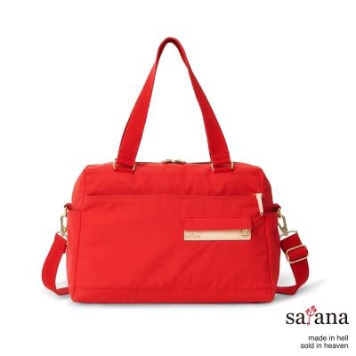 satana - 多用途斜背包/肩背包 - 中國紅
