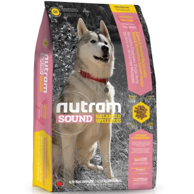 Nutram紐頓 S9成犬/羊肉南瓜配方 13.6kg【2136】