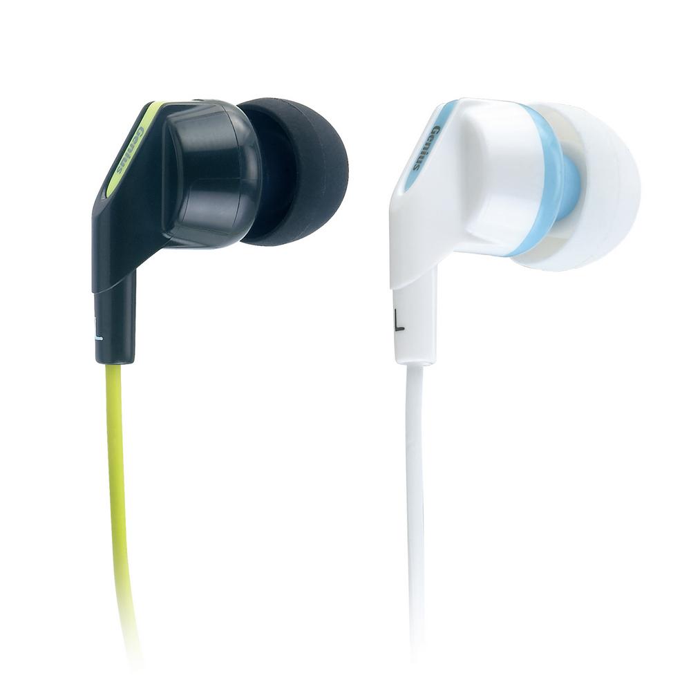 Genius GHP-220X 奢華酷炫內耳抗噪式耳機(雙色)