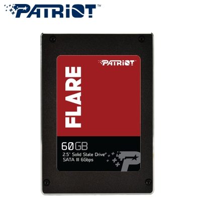 Patriot美商博帝 FLARE 60G MLC 2.5吋 SSD固態硬碟