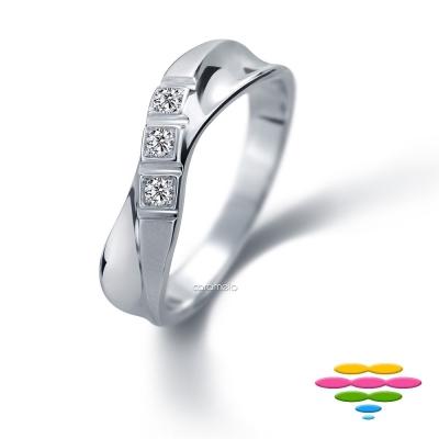 彩糖鑽工坊 華爾滋系列 鑽石男戒指