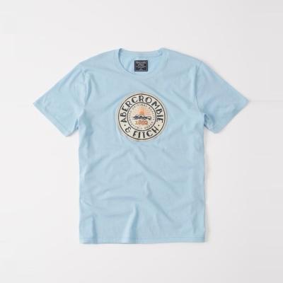 AF a&f Abercrombie & Fitch 短袖 T恤 藍色 304