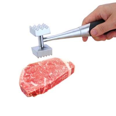 PUSH!廚房用品外銷版鋅合金敲肉錘豬牛排錘鬆肉錘雙頭碎肉錘