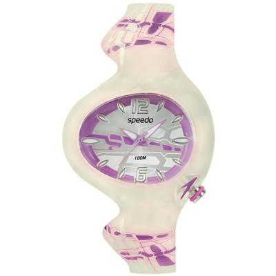 Speedo 綺麗變色兒童腕錶-紫/37mm
