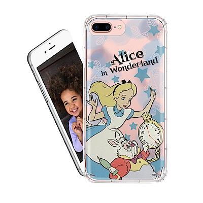迪士尼 iPhone 8 Plus / 7 Plus 繽紛空壓安全手機殼(愛麗絲...