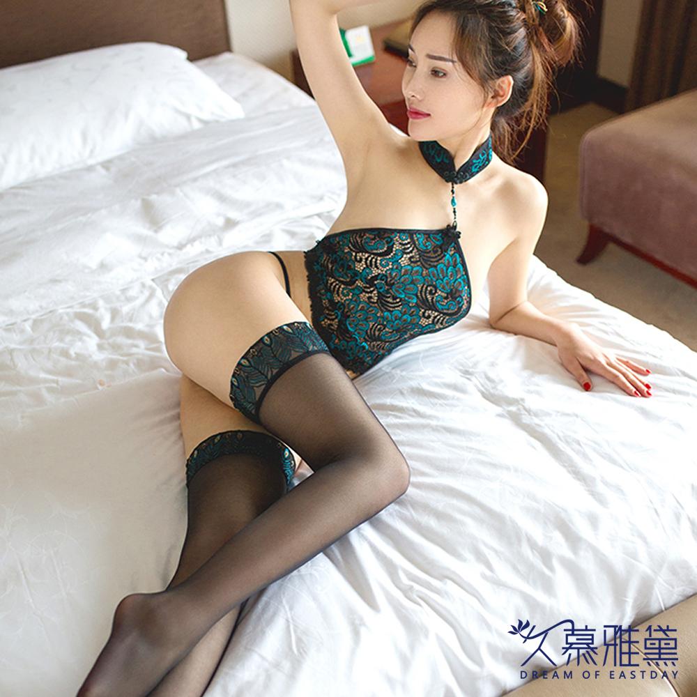 情趣睡衣 古典情趣中國風肚兜套裝 久慕雅黛