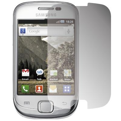 ZIYA Samsung Galaxy Fit S5670 抗刮亮面螢幕保護貼2入