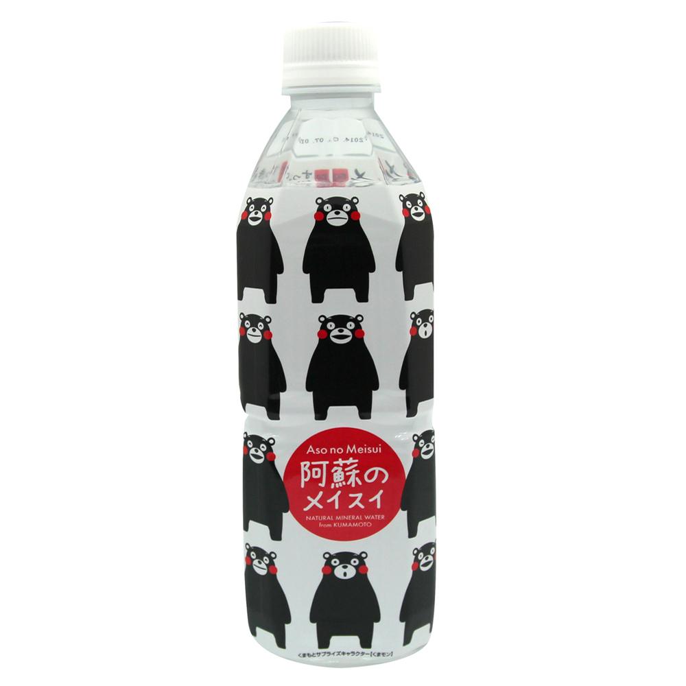 丸富產業 萌熊阿蘇礦泉水(500mlx3瓶)